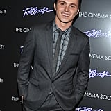 Kenny Wormald went to a premiere at the Tribeca Grand in NYC.