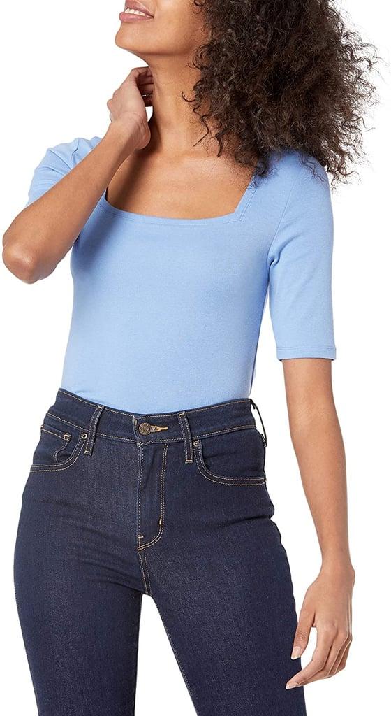 Amazon Essentials Square-Neck T-Shirt