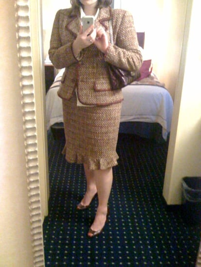 My tweed suit.
