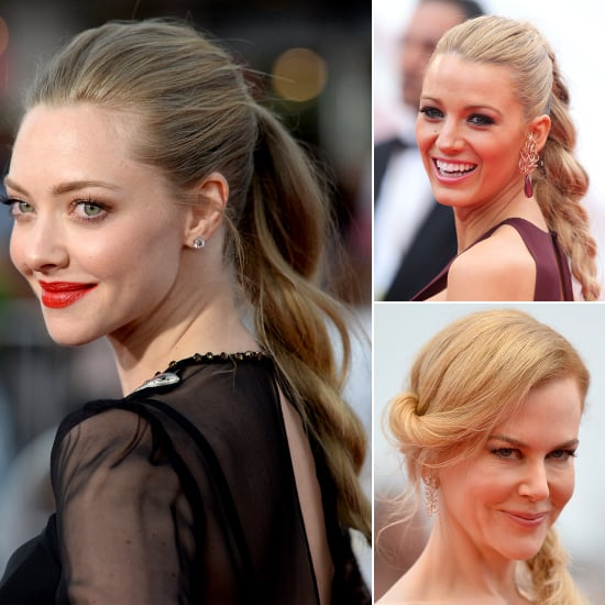 Twisted and Plaited Ponytails | Celebrity Hairstyles
