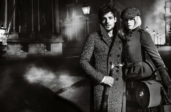 Burberry's Nominated A New It Couple: Gabriella Wilde and Roo Panes Star in the Mario Testino Lensed A/W Campaign