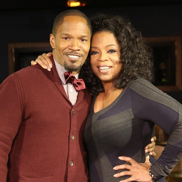 Oprah interviewed Jaime Foxx for her OWN show. Source: Instagram user oprah