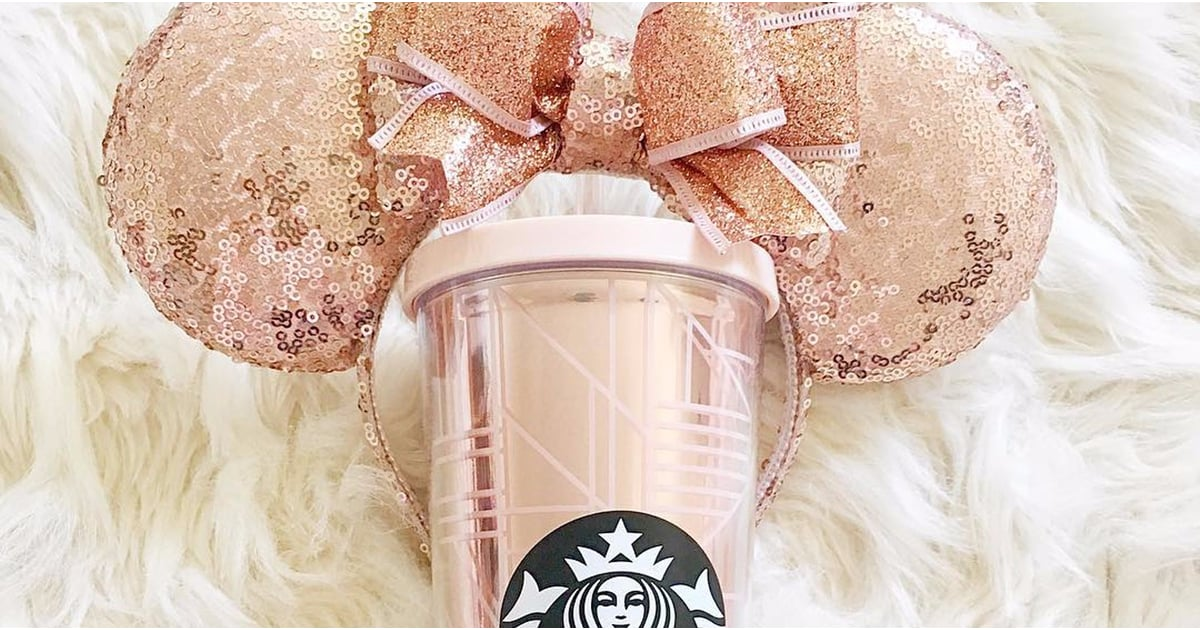 Lucky 8 Auto >> Starbucks Rose Gold Geometric Tumbler 2017 | POPSUGAR Food