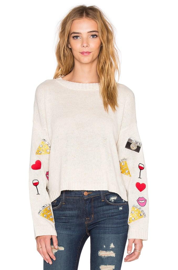 Vintage Emoji Sweater ($218)