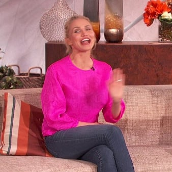 Cameron Diaz Interview With Queen Latifah | Video