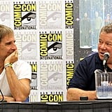 Scott Bakula and William Shatner