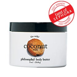 Sunday Giveaway! Philosophy Sweet Coconut Milk Body Butter