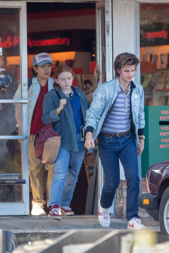 See the Cast of Stranger Things on Set of Season 4   Photos