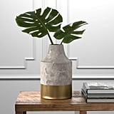 Rivet Modern Stoneware Home Decor Flower Vase
