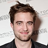 Robert Pattinson gave a smirk at an event in LA in November 2011.