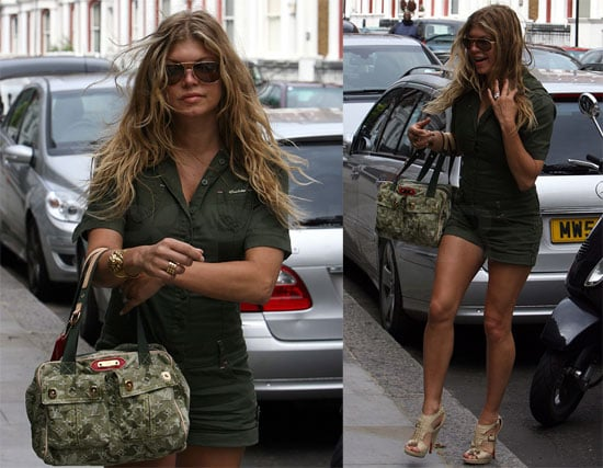 Photos of Fergie Arriving at Her Hotel in London ...