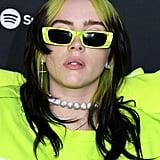Billie Eilish's Lime Green Louis Vuitton Outfit