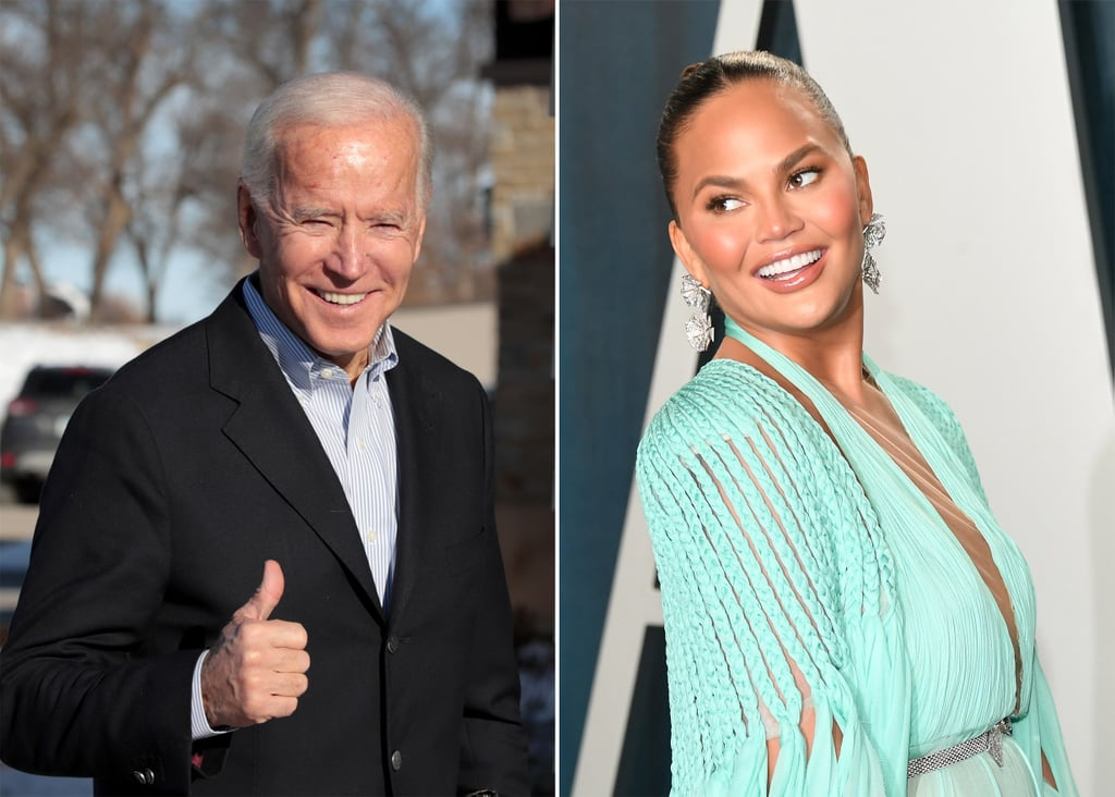 President Joe Biden Follows Chrissy Teigen on Twitter