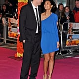 Thandie Newton and Ol Parker in London, 2012