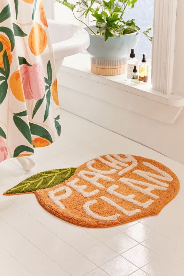 Peachy Clean Bath Mat