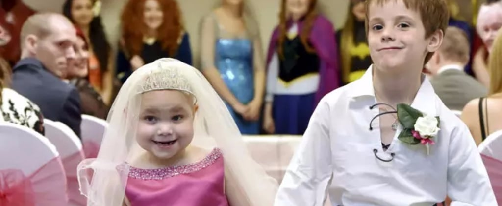 "Girl With Terminal Cancer's 1 Wish Came True When She ""Married"" Her Best Friend"