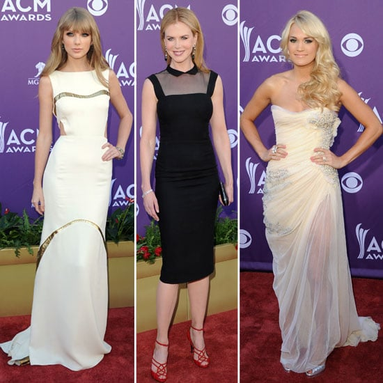 Taylor Swift, Carrie Underwood, Nicole Kidman & more Hit the 47th Annual Academy Of Country Music Awards Red Carpet in Style!