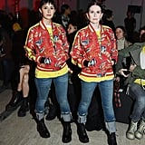 Stephanie Hunt and Megan Mullally at R13 Fall 2019
