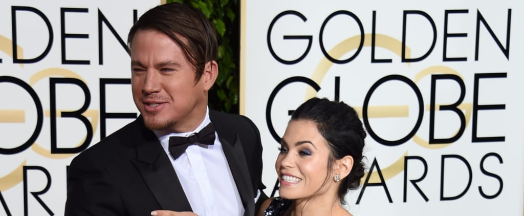Everyone is Talking About Channing Tatum's Hair at the Golden Globes