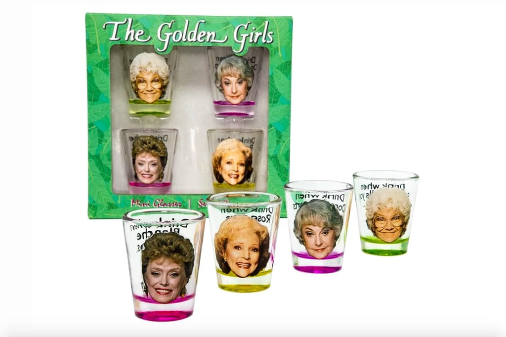 Golden Girls Mini Glasses