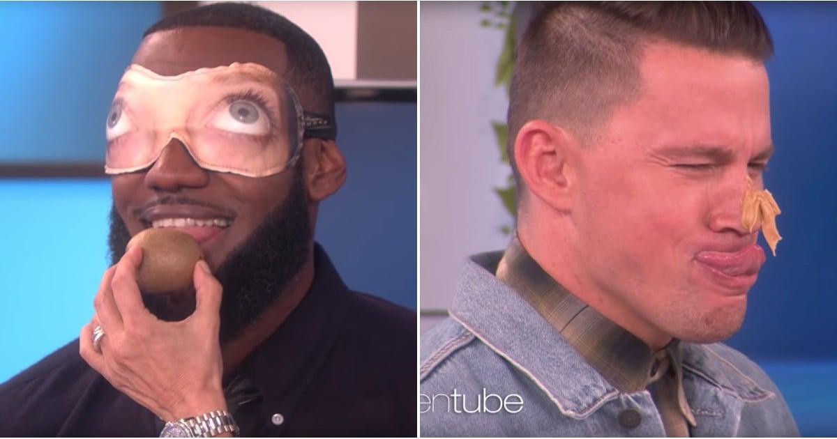 4e6794c9e4a8 LeBron James and Channing Tatum Dares on The Ellen Show