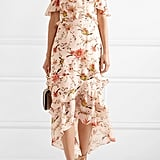 Rachel Zoe Jillian One-Shoulder Floral-Print Midi Dress