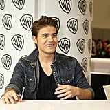 Paul Wesley Is All About Steroline