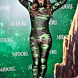 In 2013, Christina Milian wore a camo bodysuit.