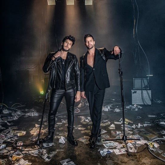 "Sebastian Yatra, Ricky Martin New Music Video ""Falta Amor"""