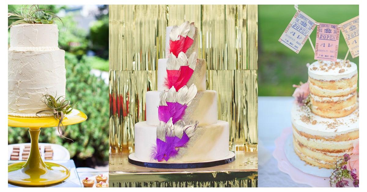 Hipster Wedding Cakes | POPSUGAR Food