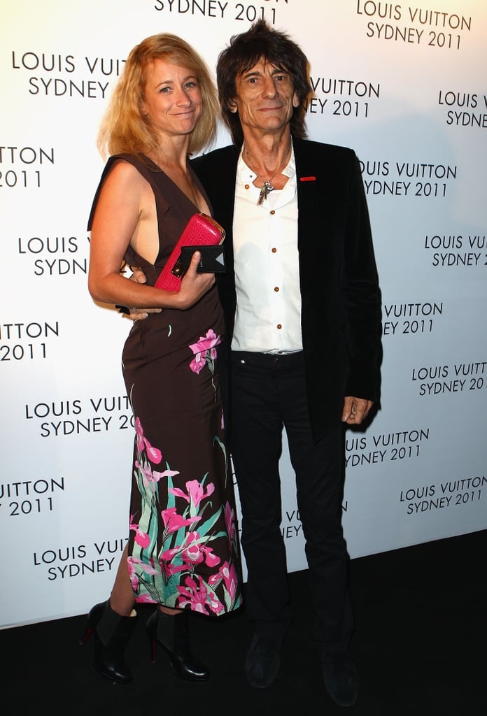Leah and Ronnie Wood
