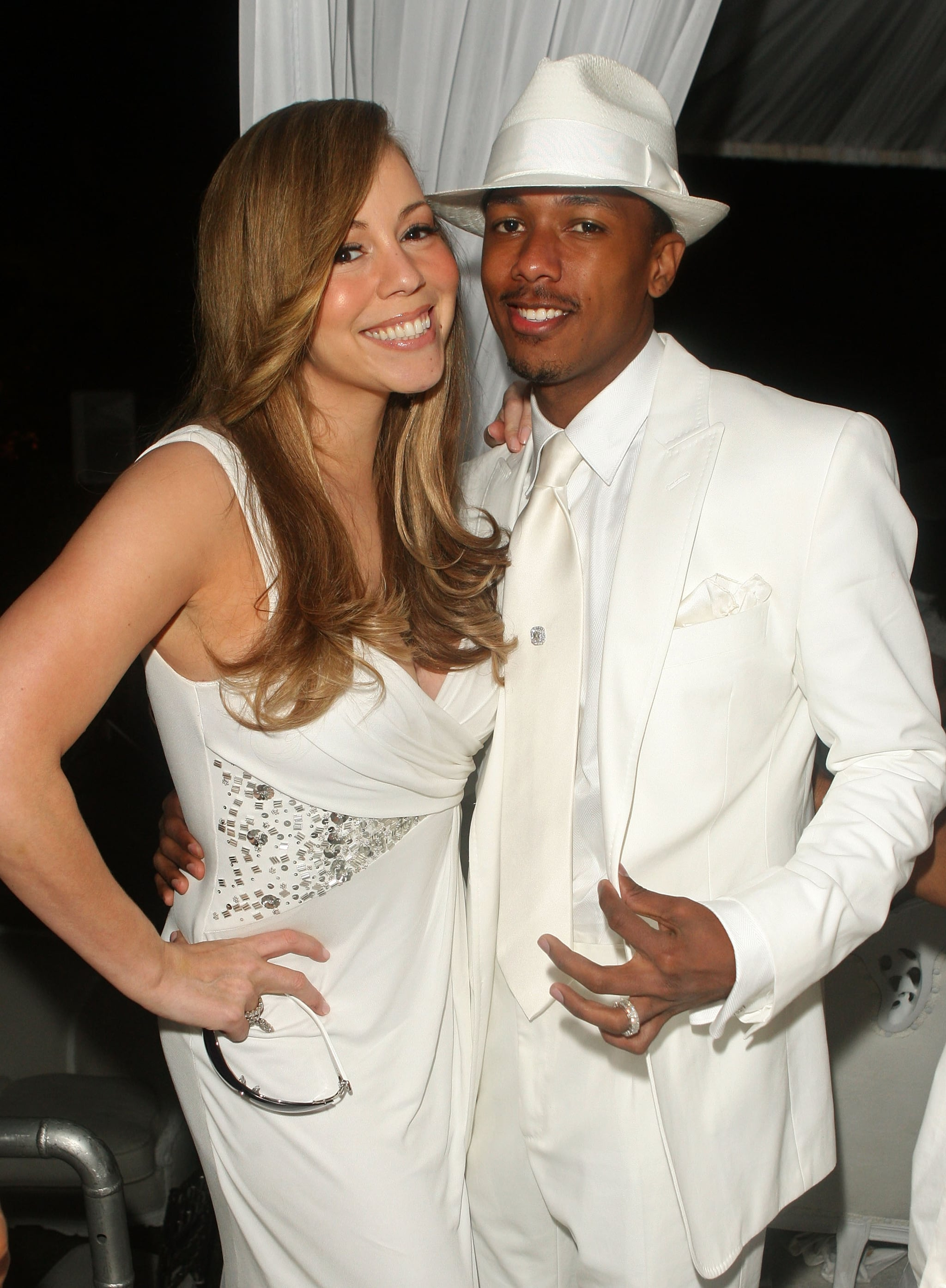 Mariah Carey and Nick Cannon were decked out in matching ...
