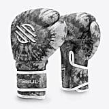 Black Swirl Gel Boxing Gloves