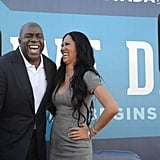 Kimora Lee Simmons and Magic Johnson did their part to encourage voters in Nevada.  Source: Facebook user Obama For America