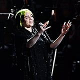 "Billie Eilish Performs ""No Time to Die"" at 2020 BRIT Awards"
