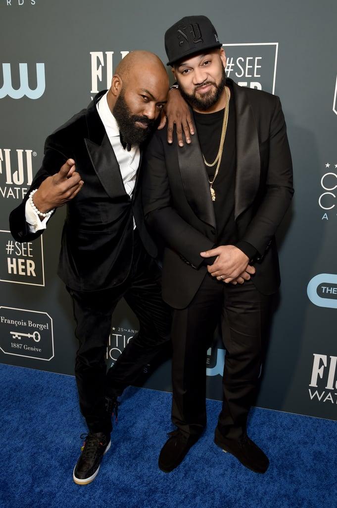Desus Nice and The Kid Mero at the 2020 Critics' Choice Awards