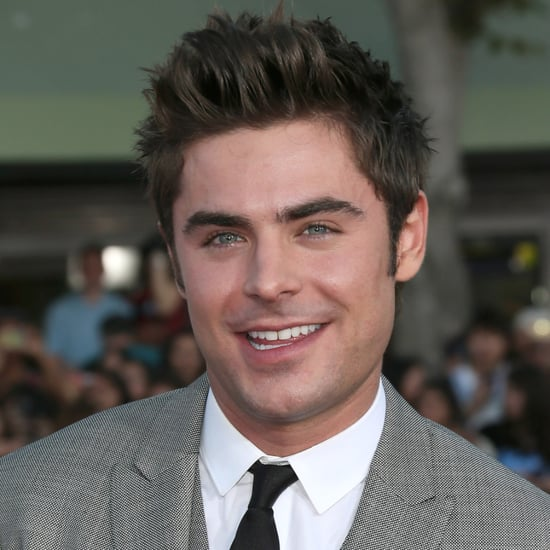 Zac Efron at the Neighbors Premiere in LA