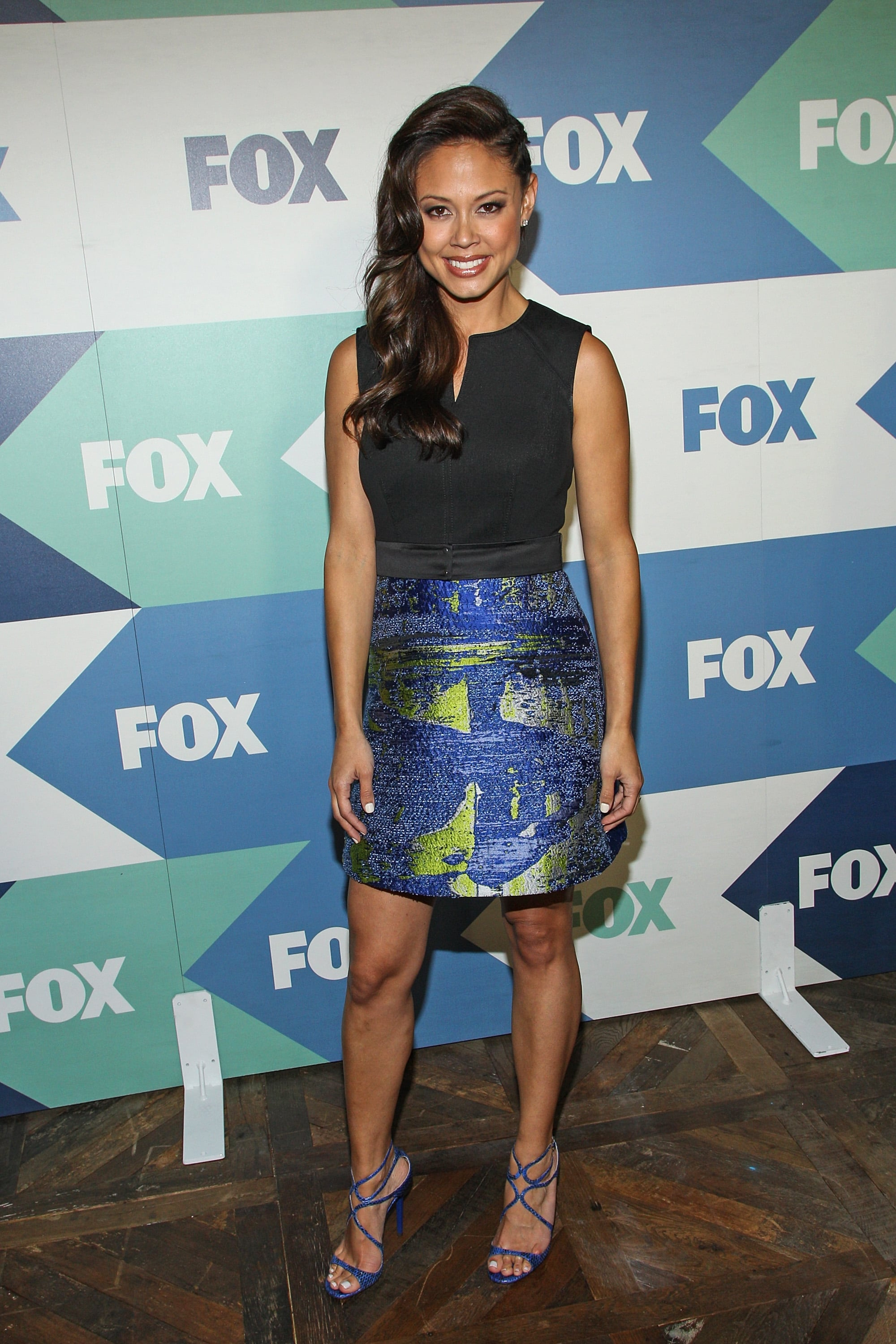 Vanessa Lachey was in attendance at the TCA Press Tour's Fox All-Star Party.