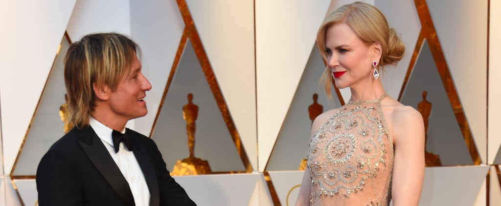 Keith Urban Grabs Nicole Kidman's Butt on the Oscars Red Carpet