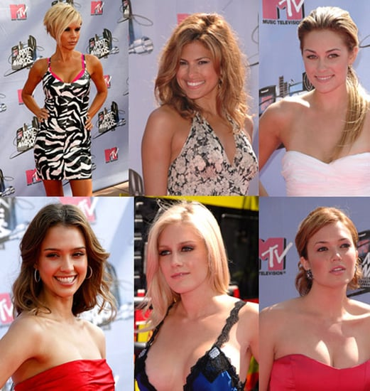 MTV Movie Awards Trend: Bare Necks