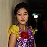 A Singer Before Her Show in Sinuiju