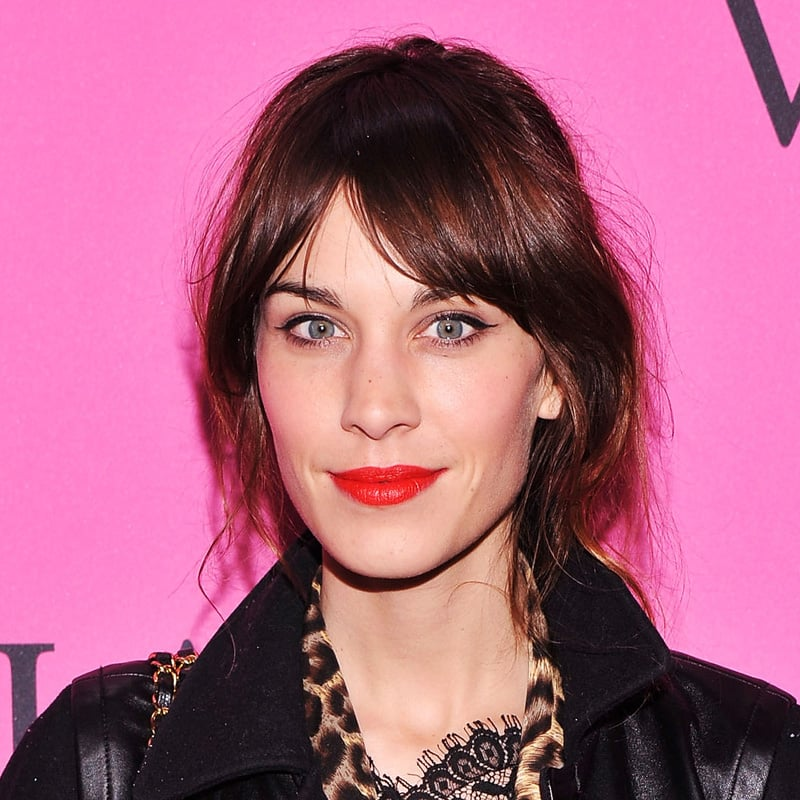 Alexa Chung's Low Key Bright Lip