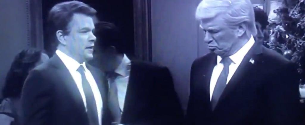 """SNL """"It's a Wonderful Trump"""" Skit Video"""