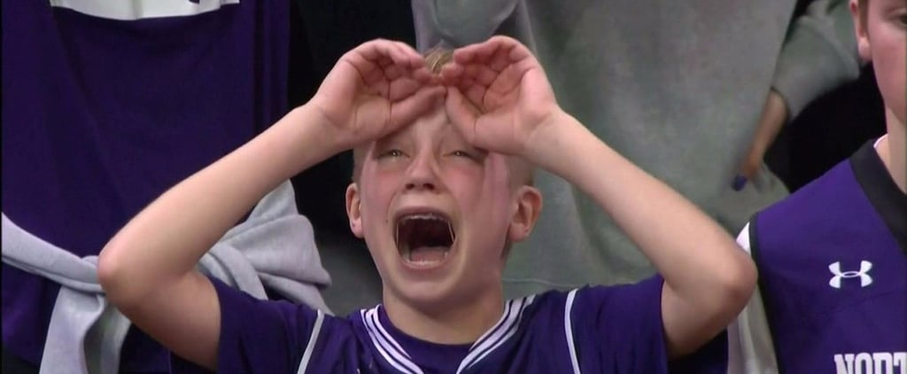 This Crying Northwestern Kid Is the Internet's Favorite GIF Right Now