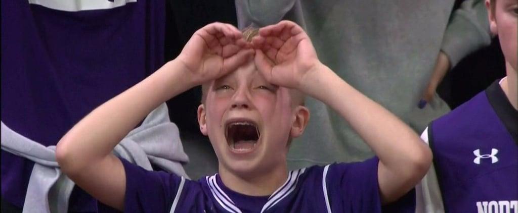 March Madness 2017 Northwestern Kid Crying Meme
