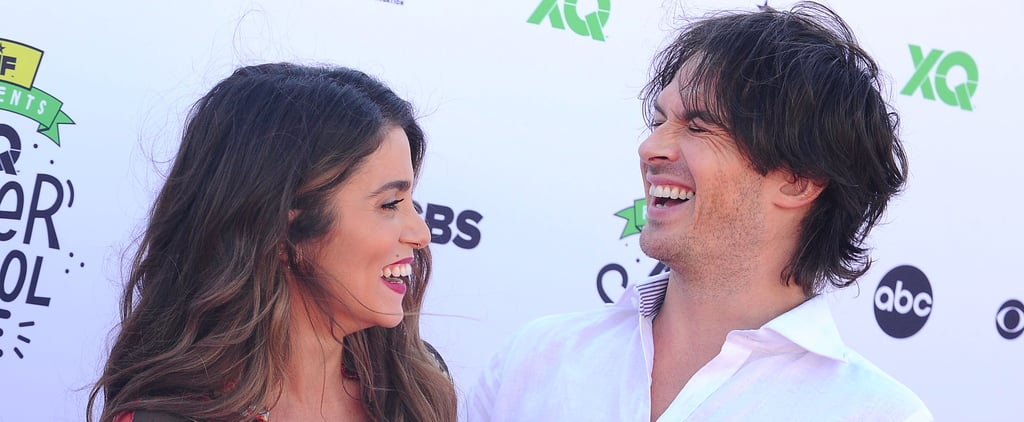 Nikki Reed and Ian Somerhalder at XQ Super School Event 2017