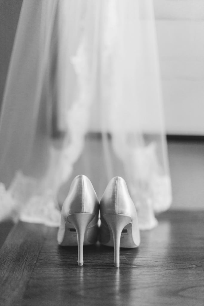 25. Shoes and Veil Together