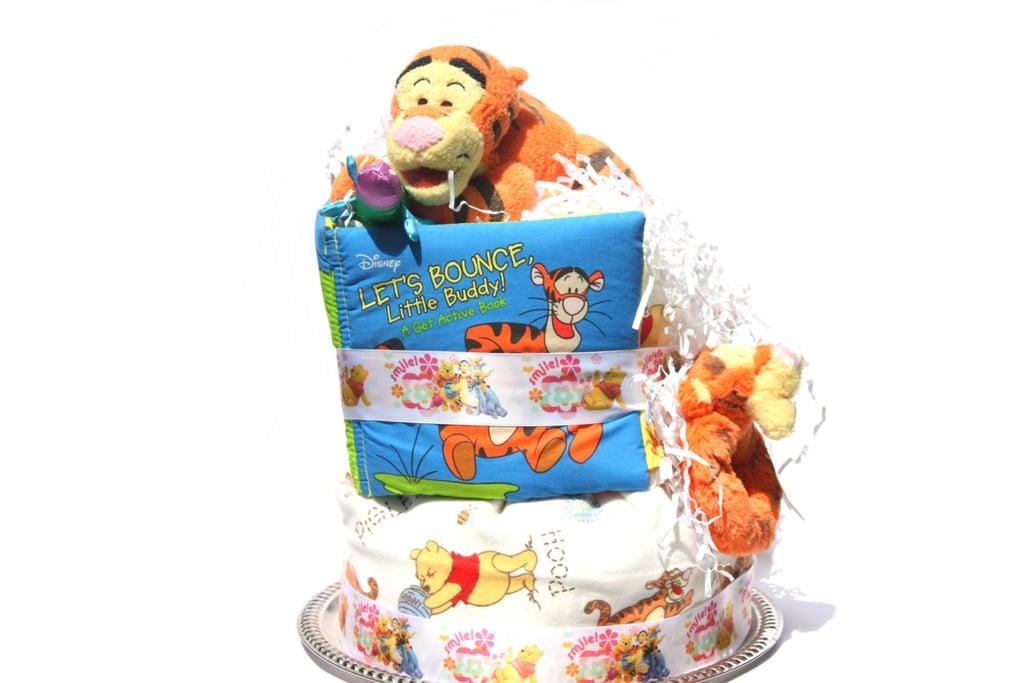 Tigger Diaper Cake