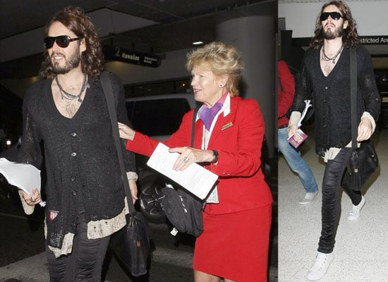 16/10/08 Russell Brand at LAX