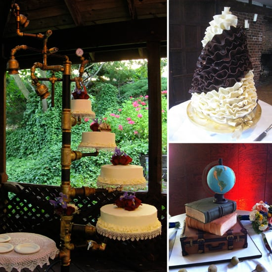 Unique wedding cake pictures popsugar food unique wedding cake pictures junglespirit Gallery